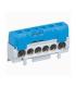 Bornier isolé bleu 1 x 10 à 35 + 5 x 6 à 25 mm².
