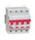 Interrupteur sectionneur de tête 400 V 4 pôles, 63 A