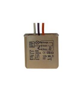 Micro module télévariateur encastré dans la boite. MTV500E