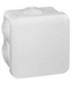 Boite étanche carrée Blanc 80 x 80 x 45 Legrand Plexo