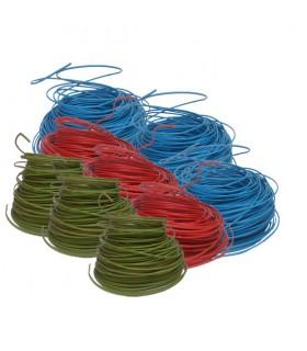 Lot de panaché fil 1.5² - 900 m 300 m R + 300 m B + 300 m VJ