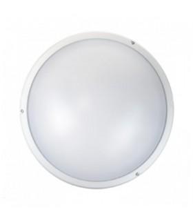 Hublot avec détecteur rond Blanc E27