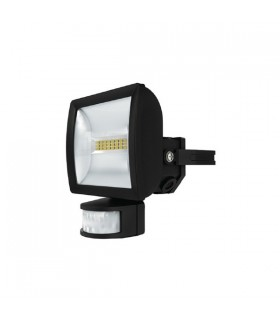 Spot Projecteur LED extérieur noir avec détecteur
