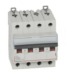 Disjoncteur tétrapôlaire 40 A Courbe C - 6 kA