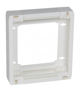 Rehausse 50 mm  pour platine de branchement disjoncteur d'abonné