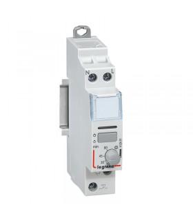 Télérupteur temporisé unipolaire 16 A - 250 V Silencieux