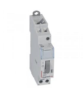 Télérupteur unipolaire 16 A - 250 V Bobine 24 V