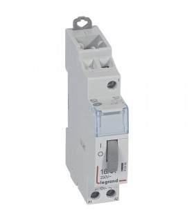 Télérupteur unipolaire 16 A - 250 V Bobine 12 V