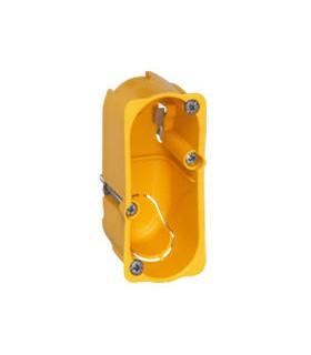 Boite d'encastrement Cloison sèche 1/2 postes Batibox Prof 40 mm