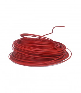Fil 16 mm² Rouge (fil de phase) 5 m.