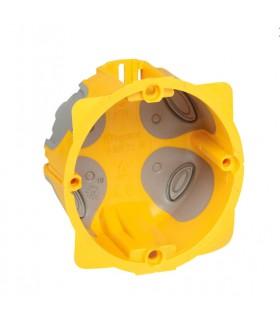Boite d'encastrement cloison sèche 1 poste BBC - 40 mm