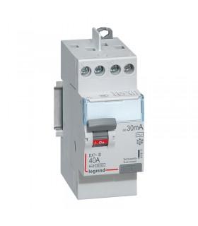 Interrupteur différentiel 40 A - 2 Pôles 30 mA, type AC, Vis - Vis