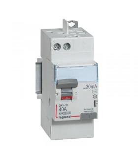 Interrupteur différentiel 2 Pôles  40A, 30 mA, type AC, Vis - Auto