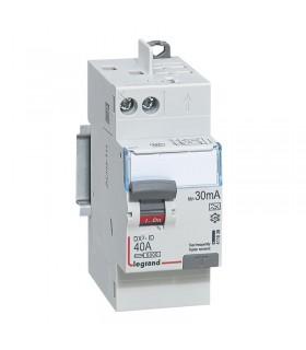 Interrupteur différentiel 2 Pôles  40A, 30 mA, type A, Vis - Auto