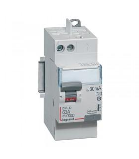 Interrupteur différentiel 2 Pôles  63A, 30 mA, type A, Auto - Auto 2 mod
