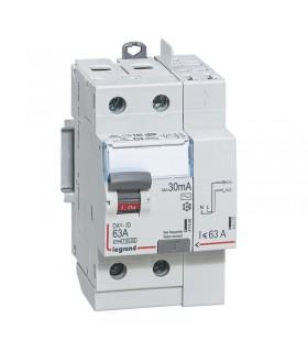 Interrupteur différentiel 2 Pôles  63A, 30 mA, type AC, Vis - Auto