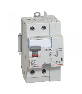 Interrupteur différentiel 2 Pôles  63A, 30 mA, type A, Vis - Auto