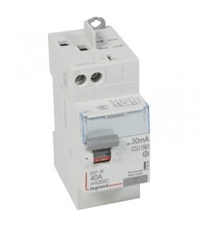 Interrupteur différentiel 2 Pôles  40A, 30 mA, type F (HPI), Vis - Auto