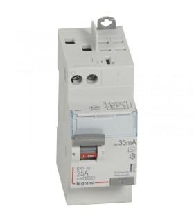 Interrupteur différentiel 2 Pôles  25A, 30 mA, type AC, Vis - Auto