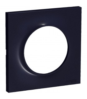 Plaque 1 poste Odace Styl Anthracite