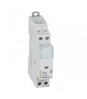 Contacteur sans commande manuelle Bipôlaire 2 F, bobine 230 V, 25 A