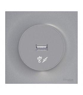 Prise chargeur USB Odace Styl Alu