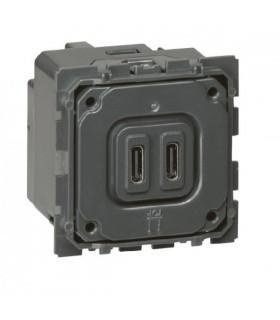 Mécanisme chargeur USB Type C legrand